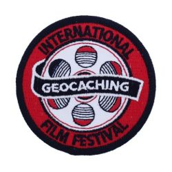 GIFF (Geocaching Film Festival) 2017 Aufnäher / Patch