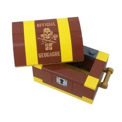 Build Your Own Treasure Chest Set Geocache incl. Nano Cache
