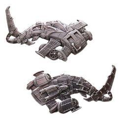 Steampunk Predator Geocoin - Hai / Shark