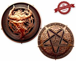 Luzifer 666 Geocoin - Devil XLE 75