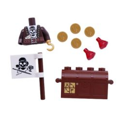 LEGO Geocaching-Pirate Torso and Accessory Kit (for Signal Figure)