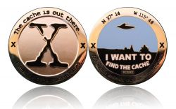 I want to find the Cache Geocoin Poliertes Silber