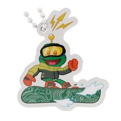Signal the Frog? Travel Tag - Snowboarder