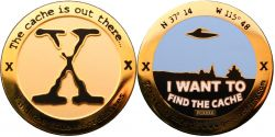 I want to find the Cache Geocoin Foggy Gold XLE