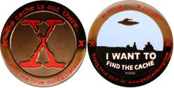 I want to find the Cache Geocoin Black Nickel XLE