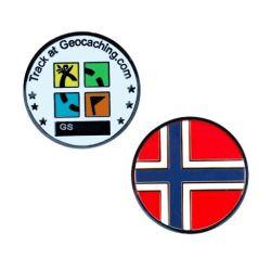 L?nder Micro Geocoin - Norwegen