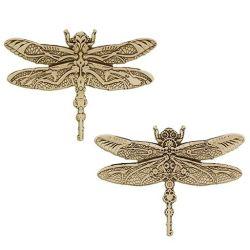 Steampunk Predator Geocoin - Libelle / Dragonfly