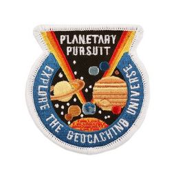 Planetary Pursuit - Official Patch