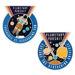 Planetary Pursuit - Official Geocoin (incl. Copy Tag)