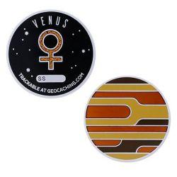 Planetary Pursuit - Solar System Geocoin - Venus