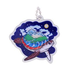 Hidden Creatures Travel Tag- World Turtle