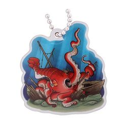 Hidden Creatures Travel Tag- Kraken