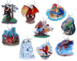 Hidden Creatures Travel Tag - SET (13 TRACKABLE TAGS)