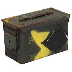 Munitionsbox groß - (starke Gebrauchsspuren)