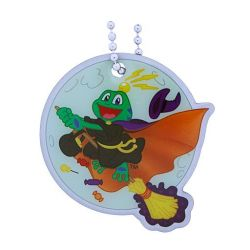 Signal the Frog Halloween Travel Tag