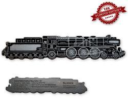 Dampflokomotive Baureihe 01 Geocoin Antik Silber LE 125