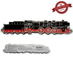 Dampflokomotive Baureihe 01 Geocoin Original Silber XLE 75