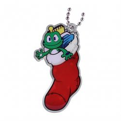 Signal the Frog® Weihnachtsstrumpf Travel Tag