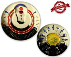 UFO Geocoin - Sun Edition XLE 75