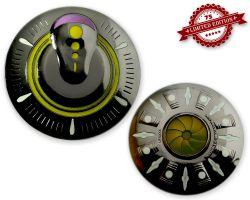 UFO Geocoin - Big Bang Edition (GLOW IN THE DARK) XLE 75