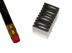 10 St?ck 15 mm x 15 mm x 2 mm Neodym Magnete