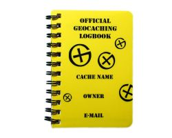 Geocaching Logbook A7