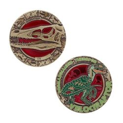 Dinosaurier Serie: Velociraptor Geocoin