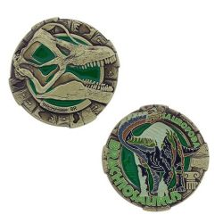 Dinosaurier Serie: Brachiosaurus Geocoin