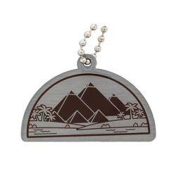 Antike Weltwunder Travel Tag - Pyramiden von Gizeh