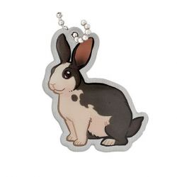 Geopets Travel Tag - Niblet the Rabbit