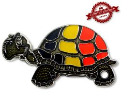 GeoTurtle Nation Geocoin - Mr. Belgien XLE 50