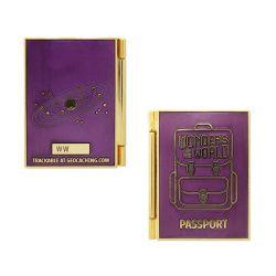 Natural & Solar System Passport Geocoin + Tag Set (2 Trackables)