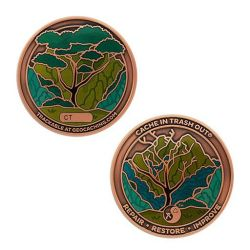 2021 CITO Geocoin & Tag Set (2 Trackables)