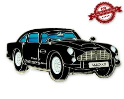Aston Geocoin Black Edition LE100
