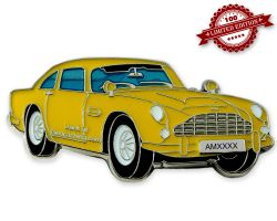 Aston Geocoin Yellow Edition LE100