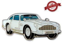 Aston Geocoin White Edition LE100