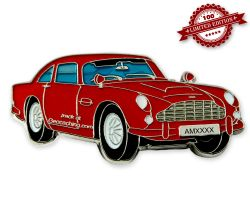 Aston Geocoin Red Edition LE100