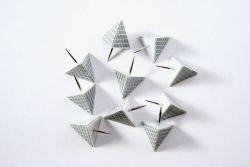 Feuernadeln Diamant Tetraeder (10 St?ck)