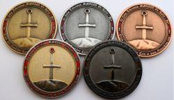 Excalibur Geocoin Sammler Set (5 Coins)