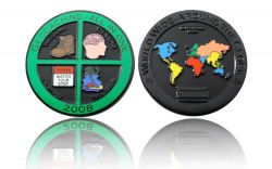 Geocaching - All In One 2008 Black Nickel