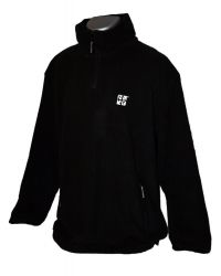 Geocaching Fleece-Pullover - Schwarz -
