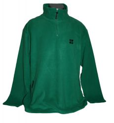 Geocaching Fleece-Pullover - Grün -