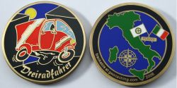 Alberto Geocoin Antique Gold LE