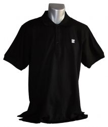 Geocaching.com Polo-Shirt - Schwarz -