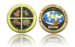 Geocaching - All In One GC 2009 Antik Gold