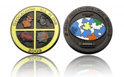 Geocaching - All In One GC 2009 Black Nickel