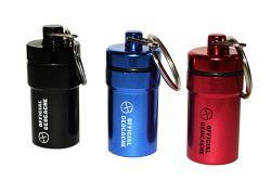 NACRO Cache Behälter -SET 3 Stück- schwarz/blau/rot