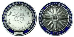 My Own Geocoin -ROMANCE- with individual engraving text