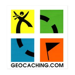 2 x Geocaching.com Sticker