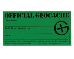 1 St?ck Grosser Geocaching Aufkleber